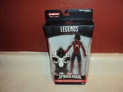 Marvel Legends Spider Girl Ashley Barton Venom Baf 6 Build A Figure Sealed