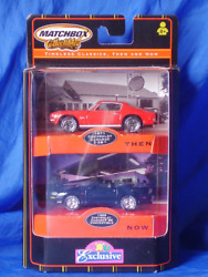 Matchbox Collectibles Camaro Timeless Classics Then And Now Toys R Us Exclusive