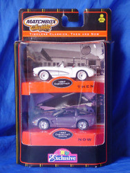 Matchbox Collectibles Corvette Timeless Classics Then And Now Toys R Us Exclusive