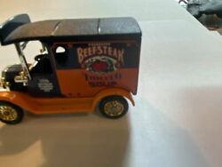 Cast Iron Collectable Miniature Toy Beefsteak Tomato Soup Truck