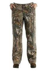 Nwt Womens Realtree Camo Relaxed Fit Kane Dungaree Hunting Pants 6 Short Petite