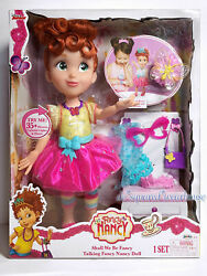 Disney Junior Fancy Nancy Shall We Be Fancy Talking Doll Colorful Lights And Music