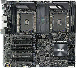 For Asus Ws C621e Sage Dual 3647 4-way Sli Crossfire Pci Workstation Motherboard