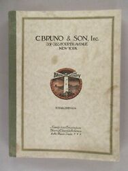 C. Bruno Musical Instruments Catalog - 1926-1927 Guitars 224 Pages