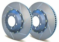 Girodisc Front 2pcs 380mm Rotors For Porsche Cup Cars 997 W/ Center Locks