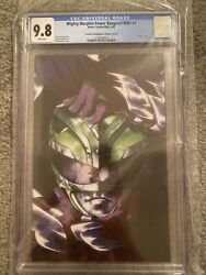 Mighty Morphin Power Rangers Tmnt 1 Montes 110 Variant Cover 2nd Print Rare
