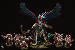 The Scythes Of Nurgle Painted Figure Warhammer 40k Pre-sale | Art