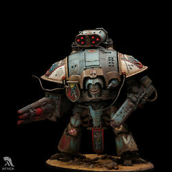 Knight Preceptor Canis Rex Of Grey Knights Painted Figure Warhammer 40k | Museum