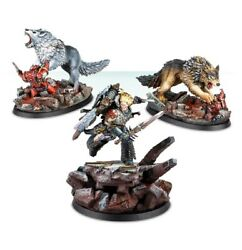 Leman Russ And The Wolf-kin Painted Figure Horus Heresy Pre-sale | Art Level