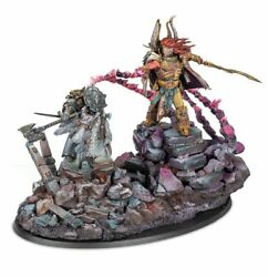 Magnus And Russ - The Primarchs Duel Painted Figure Horus Heresy Pre-sale   Art