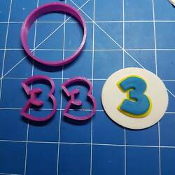 Paw Patrol Font Cookie Fondant Cutters Full Alphabet And Numbers Available