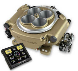 Holley 4150 Super Sniper 550-517 Gold Finish 1250 Hp Fuel Injection System