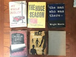 Wright Morris Signed Book Collection Ephemera First Edition My Uncle Dudley Rare