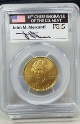 2012-w First Spouse Gold 10 Alice Paul Women Suffrage Pcgs Ms 70 First Strike
