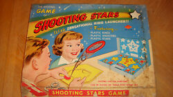Vintage - The Exciting Game Of Shooting Stars By Built-rite Toys - Very Rare