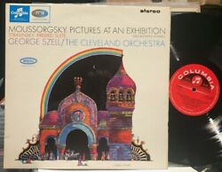 Columbia Uk Lp Sax-2556 Mussorgsky Pictures At An Exhibition, Szell, 1965 Uk 1st