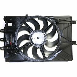 Sunbelt Radiator Condenser Fan For 2014-2019 Fiat Fits 500l Lifetime Warranty