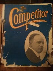 1921 Very Rare African American Magazine The Competitor The National Magazine