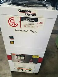 15 Hp Gardner Denver Electra Screw Drive Air Compressor With Built In Dryer