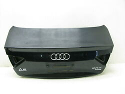 08-17 Audi A5 S5 B8 Coupe Trunk Lid Shell Oem 22110