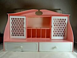 Mjs Vintage Pink Remco Ind. 825-1 Girl's Jewelry Armoire 18x12x6