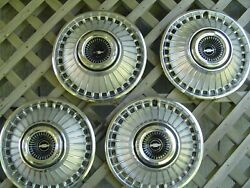 Vintage 1963 1964 Chevrolet Chevy Belair Impala Corvair Hubcaps Wheel Covers