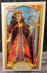 Disney Designer Limited Edition Collection Belle Doll From Beauty And The Beast