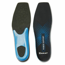 Ariat Menand039s Wide Square Toe Power Support Insoles Rebound Cushion Choose Size