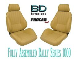 Full Seats 80-1000-54 Reclining Beige Vinyl For 1997 - 2004 Ford Crown Victoria