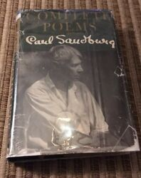 Carl Sandburg / Complete Poems 1950 Signed First Edition