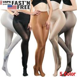 US 240 lbs Super Elastic Pantyhose 70D Shiny High Glossy Sexy Stockings Tights  $12.99