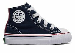 PF Flyers Infant Center Hi Shoes Navy Size $13.16