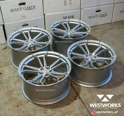 20 X 10 Avant Garde M610 4 Wheel Set Audi B8 A4 S4 A5 S5 A6 Rotary Forged 5x112