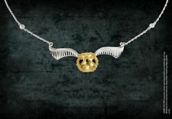 Harry Potter Necklace Quidditch Golden Snitch Women's Collectible Jewelry