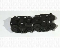Ahm Rivarossi Ho Parts Arch Bar Trucks Without Couplers Pair P-133-020