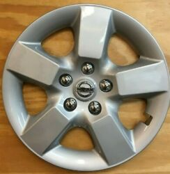 1 Hubcap 16 Inch Wheelcover Fits 2008 - 2015 Nissan Rouge 53077