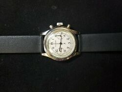 Rare 1940s Clam Shell Gallet Chronograph