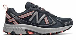 New Balance Womenand039s 410v5 Trail Shoes Grey With Grey And Orange
