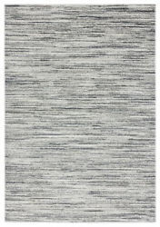 Yellow Lined Scratcheds Faded Shaded Contemporary Area Rug Striped 2610 20191