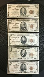 1929 Minneapolis Frbn Lot Full Collection 100 / 50 / 20 / 10 / 5 []