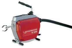 Rothenberger R600 Drain Cleaning Machine With Guide Hose 72869v
