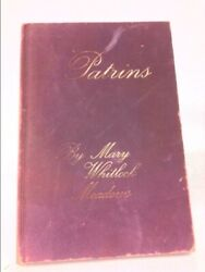 Patrins The Metaphysical Poetry Of Mary Whitlock Meadows 1st Ed