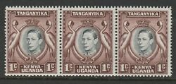 K.u.t.1938-54 1c With Retouched Value Tablet Sg 131ad Mnh.