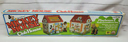1988 Zee Toys Disney Mickey Mouse Clubhouse Indoor/outdoor Vinyl Play House