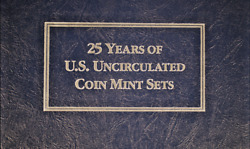 1962 - 1987 Us Uncirculated Coin Mint Sets - 25 Years - Free Shipping  Ac-297