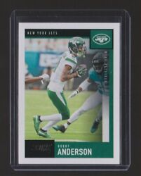 2020 Score Robby Anderson Base Card - Card 32 - New York Jets - Free Shipping