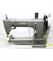 Singer 45b6bc Long Arm Cylinder Industrial Sewing Machine