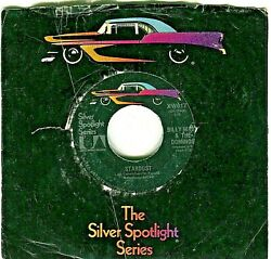 78 -- 45 Records Silver Spotlight Series Various Artists On United Artists