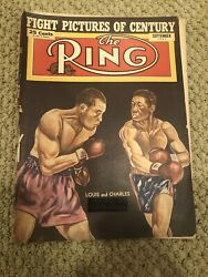 Louis And Charles The Ring September 1951 Magazine $9.95