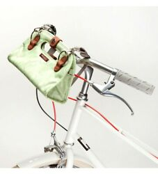 PO Campo Bike Handle Bar Bag Streeterville Clutch  Purse Green Floral Womens $19.99